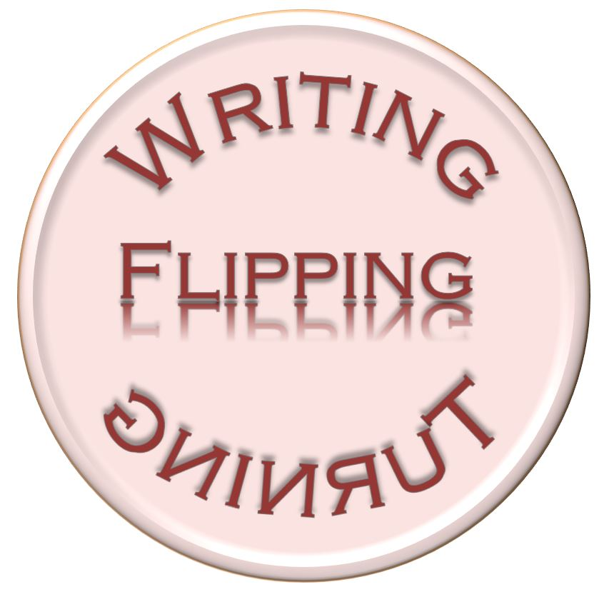 Writing Turning Flipping-Logo