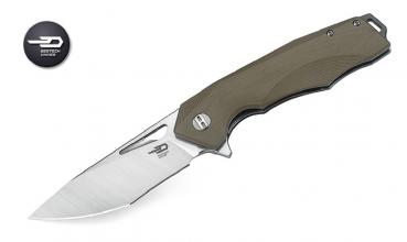 Bestech Knives G10 Toucan beige stonewash finish